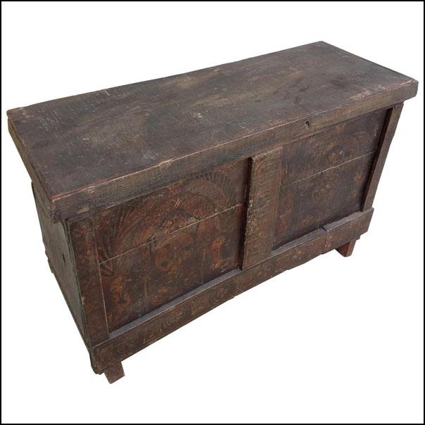 Moroccan Handmade Storage Trunk – Reclaimed Wood