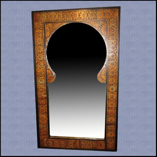 Mausolee Camel Bone Mirror