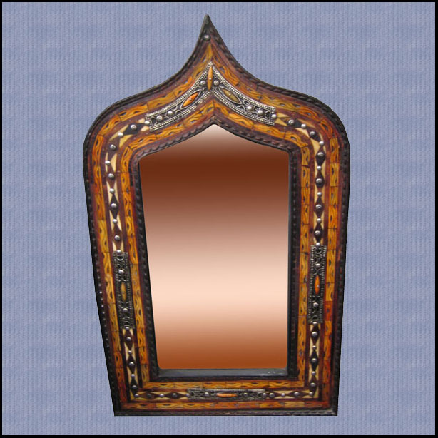 Medium Medina Camel Bone Mirror
