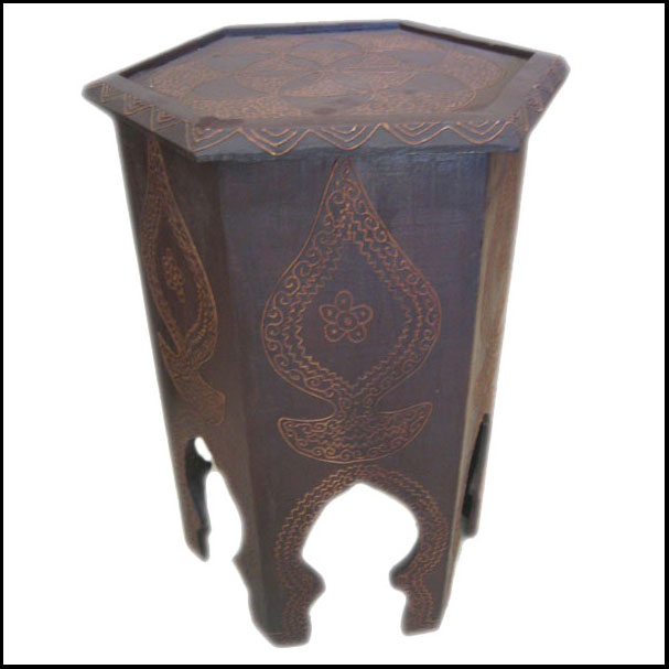 Erfoud Style Moroccan Side Table
