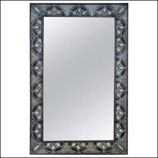 Amana Rectangular Inlaiy Mirror
