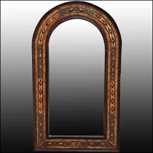 Large Medina Camel Bone Mirror
