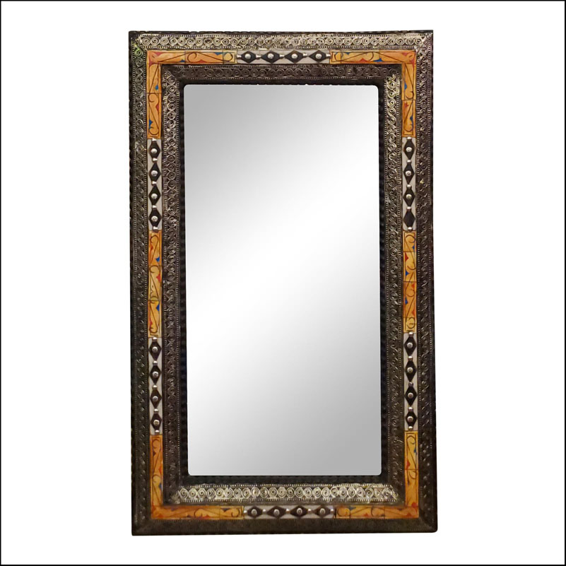 Chaabi Marrakech Rectangular Inlaiy Mirror – Har 18