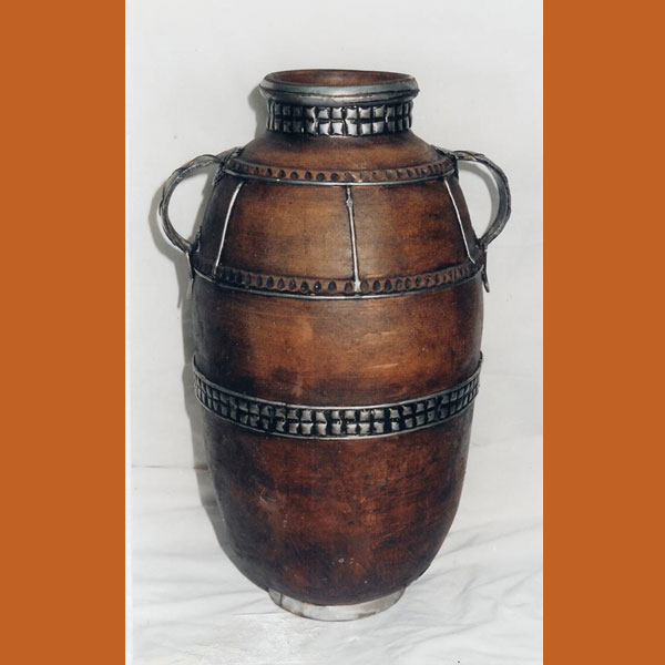 Moroccan Clay Jar MJ 9