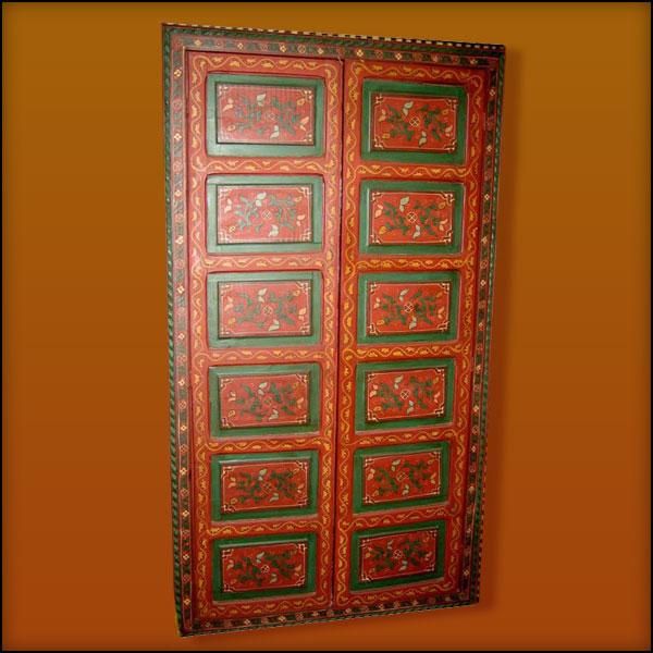 Moroccan Decorative Door Red