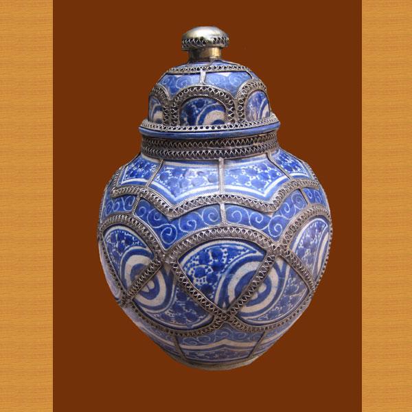 Blue Koura Jar