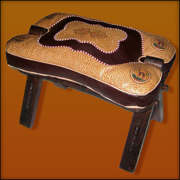 Brown / Tan Camel Saddle