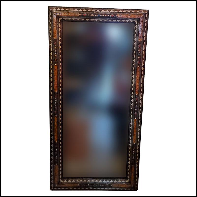 Extra Large Moroccan Bone Mirror – Kech 3