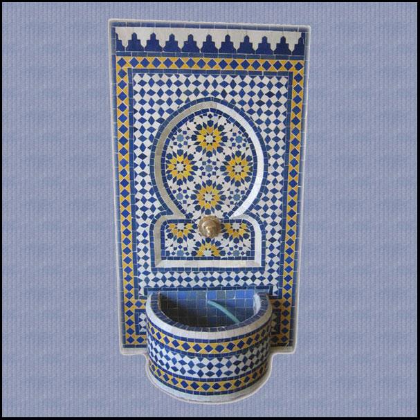 Tazia Moroccan Mosaic Fountain