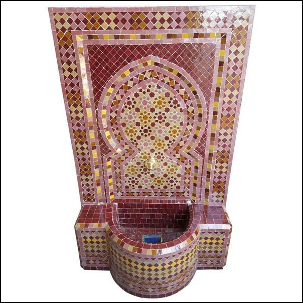 Agadir Moroccan Mosaic  Fountain