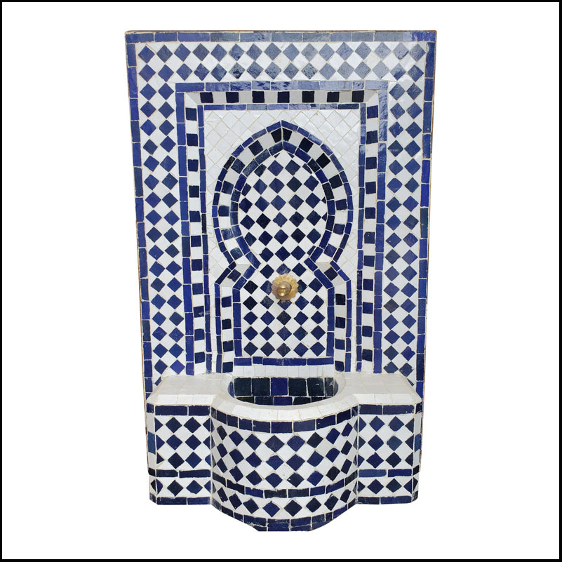 Moroccan Mosaic Mini Fountain