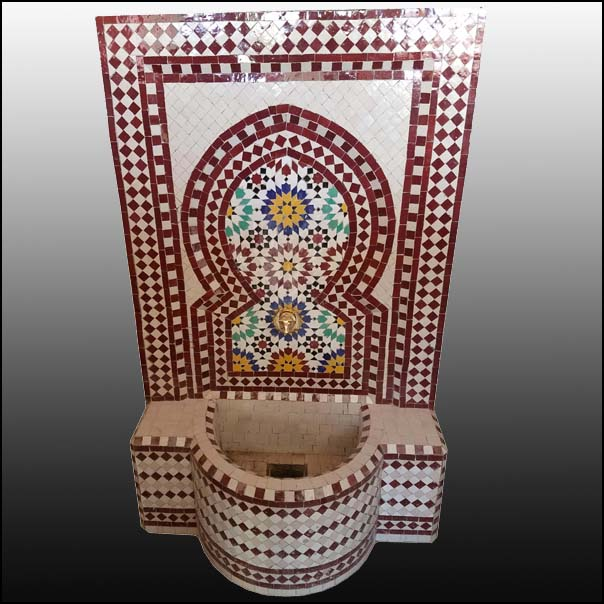 Conor Moroccan Mosaic Fountain