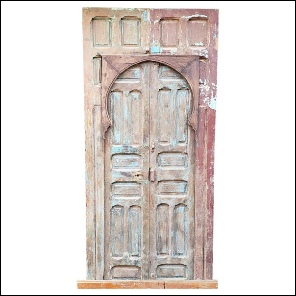Old Mok Moroccan Door, Hand Knocker