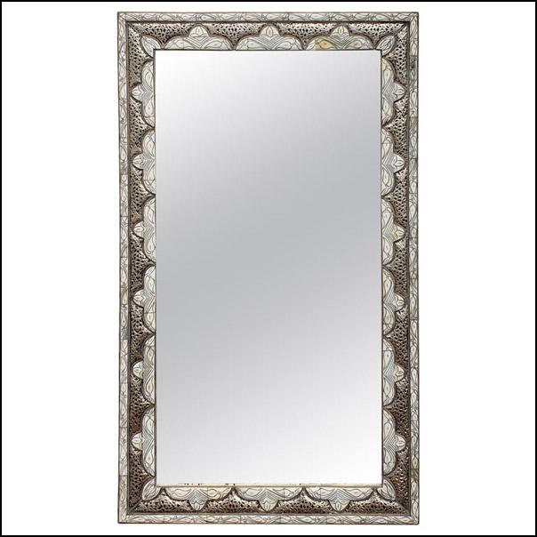 Marrakech Rectangular Inlaiy Mirror – Har 6