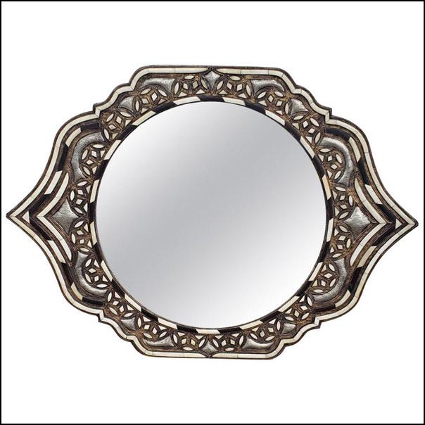 Marrakech Eye Shape Inlaiy Mirror