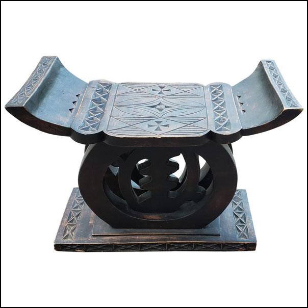 Asian Chinese Handmade Wooden Stool