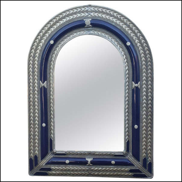 Marrakech Arched Resin Mirror, Har 9