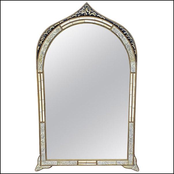 Marrakech Rectangular Inlay Mirror, Har 13