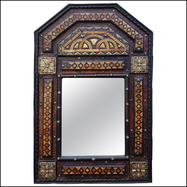 Marrakech Rectangular Inlaiy Mirror, Har 14