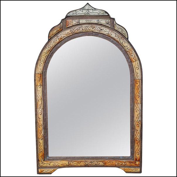 Moroccan Camel Bone Mirror – Har 15