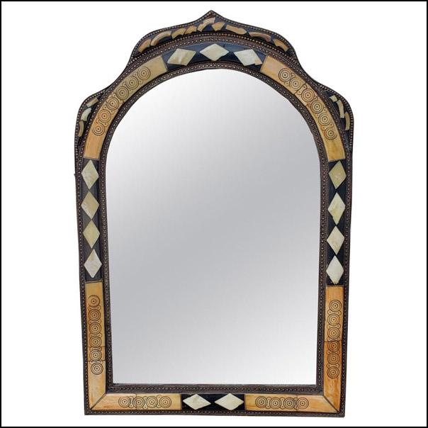 Moroccan Camel Bone Mirror – Har 16