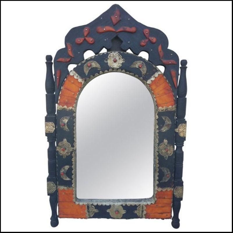 Moroccan Arched Camel Bone Mirror – Har 15