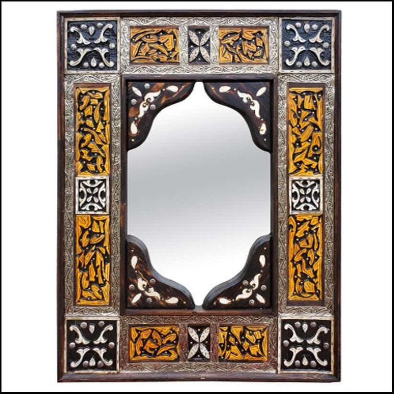 Marrakech Rectangular Inlay Mirror – Har 7