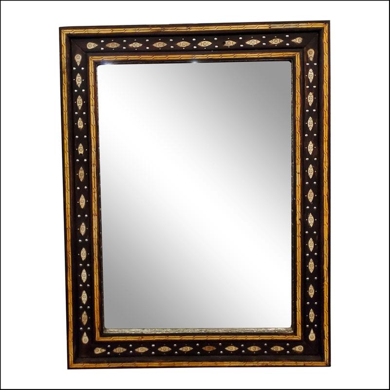 Marrakech Rectangular Inlaiy Mirror, Har 8