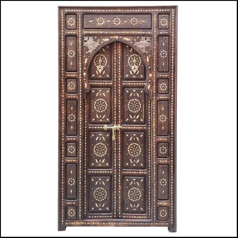 Lac 3 Moroccan Wooden Door – Loaded