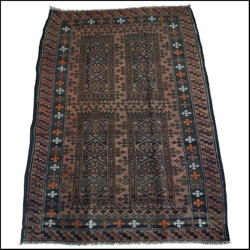 Incredible Piece of Art. Oriental Tribal Area Rug – Sar 5