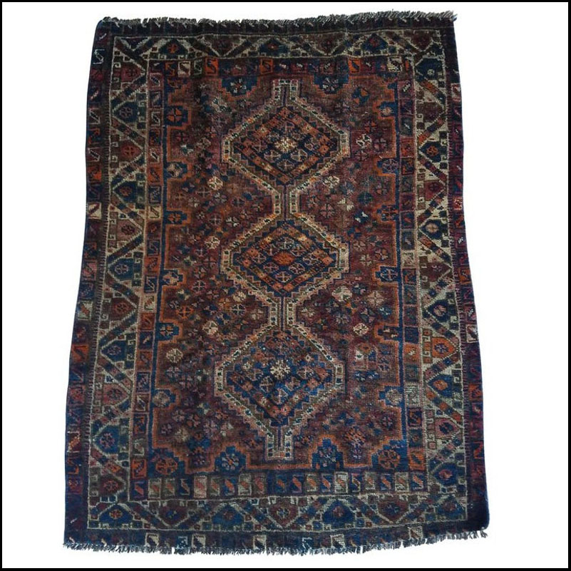 So Stunning. Oriental Tribal Area Rug – Sar 4