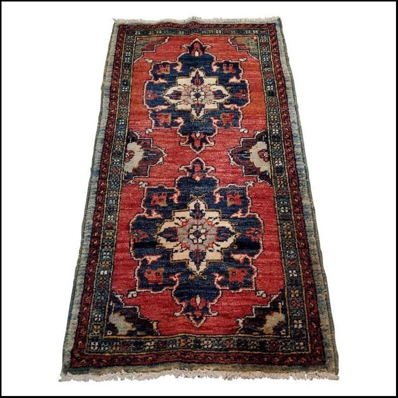 Medium Size Asian Persian Rug, Colorful / 220