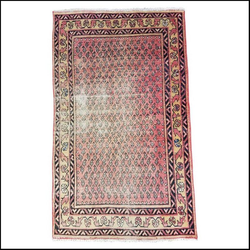 Vintage Pakistan Oriental Area Rug – 3'4″ × 5'7″ Sar 11