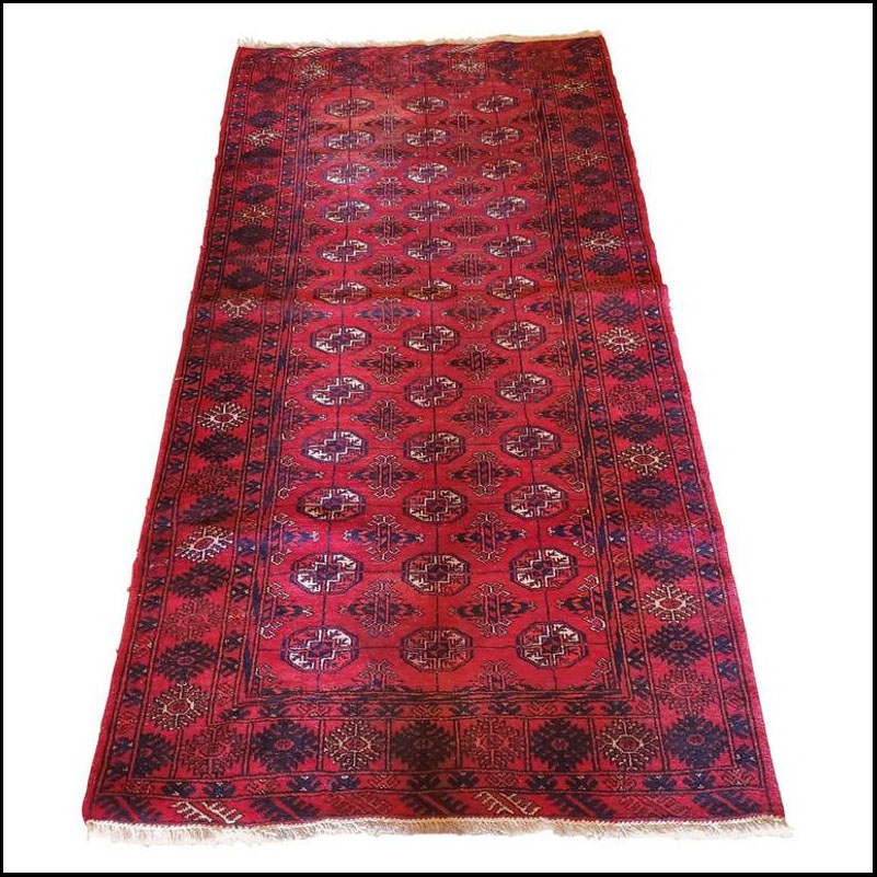 Medium to Large Size Afghan Area Carpet / Rug, Colorful