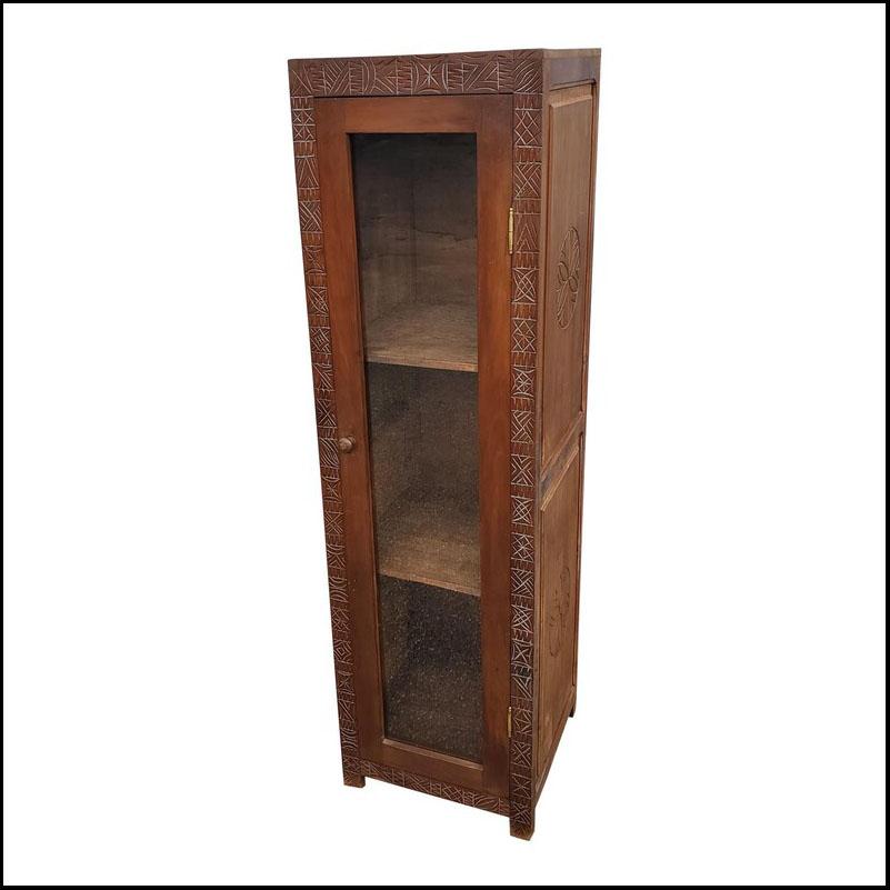 Handmade Moroccan Cedar Wooden Cabinet